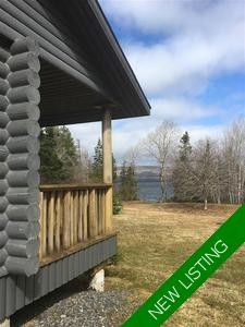 Whycocomagh Portage Cottage/Recreational- Waterfront Property for sale:  3 bedroom 1,144 sq.ft.