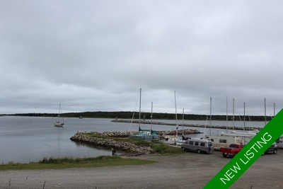 Canso Vacant Land-Harbour View for sale:
